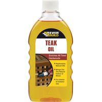 Everbuild Teak Oil 500ml