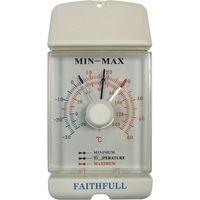 Faithfull Dial Max-Min Thermometer