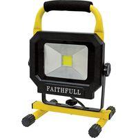 Faithfull Power Plus LED Pod Site Light 1400 Lumen 20w 110v