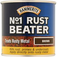 Hammerite No.1 Rustbeater Dark Brown 250ml