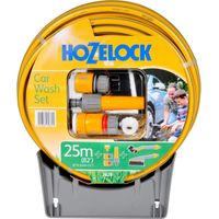 Hozelock Car Washing Brush & Hose Set