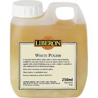 Liberon White Polish 250ml
