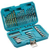 Makita 50 Piece Trade Power Tool Drill Bit & Accessory Set