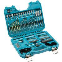 Makita 100 Piece Trade Power Tool Drill Bit & Accessory Set