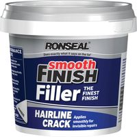 Ronseal Smooth Finish Hairline Crack Filler 600g