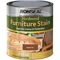 Ronseal Hardwood Furniture Stain Dark Oak 750ml