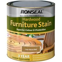 Ronseal Hardwood Furniture Stain Natural Matt 750ml