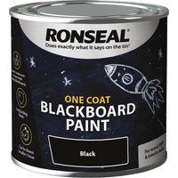 Ronseal One Coat Blackboard Paint 250ml