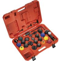 Sealey 25 Piece Automotive Cooling System Pressure Test Kit