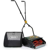 Webb WEH12R Push Hand Cylinder Lawnmower 300mm