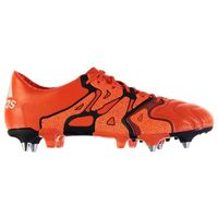 Adidas X 15.1 Leather SG Mens Football Boots (Bold Orange)
