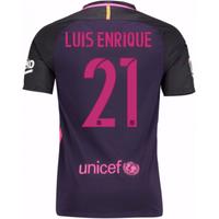 2016-17 Barcelona Away Shirt (Luis Enrique 21) - Kids
