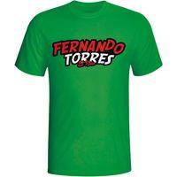 Fernando Torres Comic Book T-shirt (green)