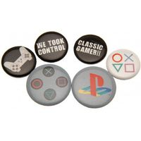 Playstation Button Badge Set