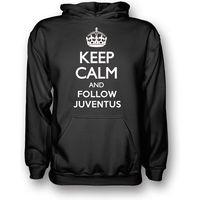 Keep Calm And Follow Juventus Hoody (Black)