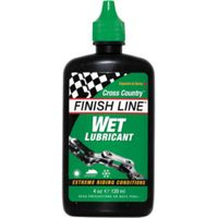 Finish Line Cross Country Wet Lubricant 120ml Bottle Lubrication
