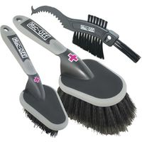 Muc-Off 3 Cleaning Brush Set Bike Cleaner
