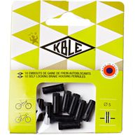 Transfil Pack Of 10 Outer Self-Locking Ferrules Brake Cables