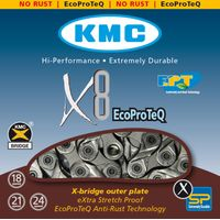 KMC X8 Ept 8 Speed Chain Chains