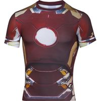 Under Armour Transform Yourself Iron Man Compression Shirt Compression Base Layers