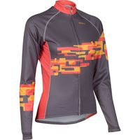 Primal Womens Camille Heavyweight Jersey Long Sleeve Cycling Jerseys
