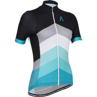 Primal Womens Sound Barrier Helix Jersey Short Sleeve Cycling Jerseys