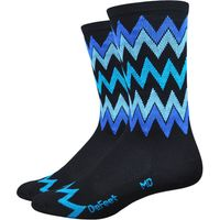 DeFeet Aireator Speak Easy 6 Socks Cycling Socks