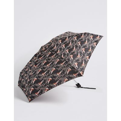 Printed Umbrella with Stormwear™ black mix