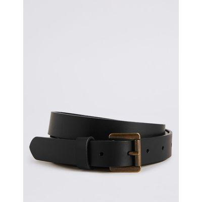 Leather Hip Belt black