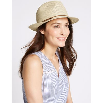 Trilby Summer Hat natural