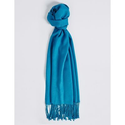Modal Rich Pashminetta Scarf bright turquoise