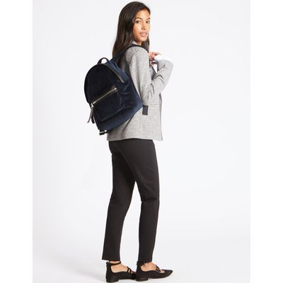 Rucksack Bag dark navy mix