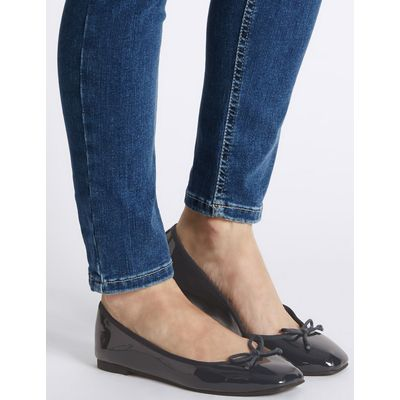 Bow Pump Shoes navy
