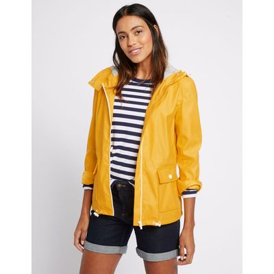 Twin Pocket Zipped Anorak yellow