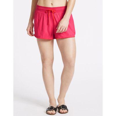 Drawstring Shorts pink