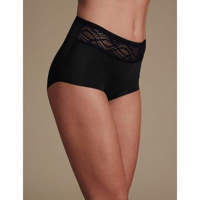 No VPL Curve Smooth Lines Full Brief black