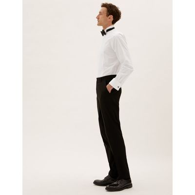 Pure Cotton Easy to Iron Tailored Fit Shirt white