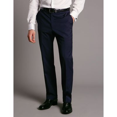 Big & Tall Navy Tailored Wool Rich Trousers navy