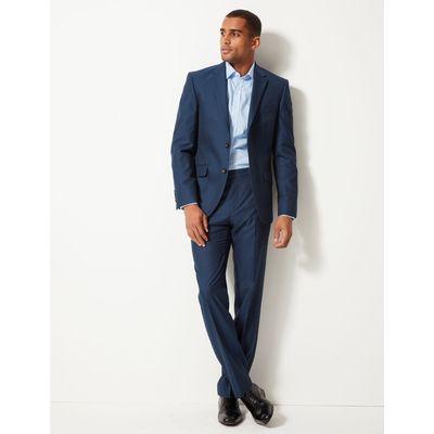 Big & Tall Indigo Tailored Fit Trousers indigo