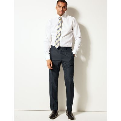 Big & Tall Navy Tailored Fit Trousers navy