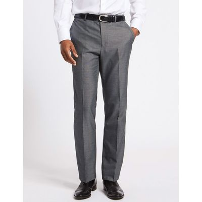 Big & Tall Grey Tailored Fit Trousers grey