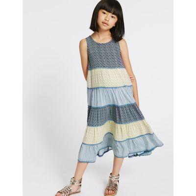Sleeveless Dress (3-14 Years) multi