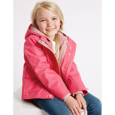 3 in 1 Fisherman Coat with Stormwear™ (3 Months - 7 Years) pink