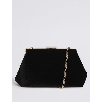 M&S Collection Large Frame Clutch Bag