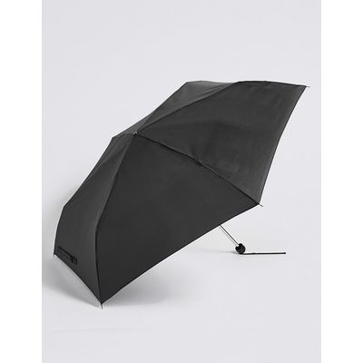 M&S Collection Sheen Compact Umbrella with Stormwear