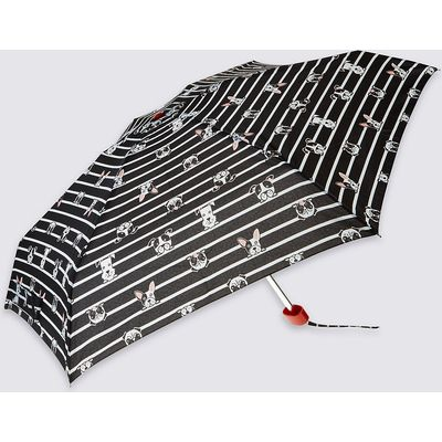 M&S Collection Compact Umbrella with Stormwear & FLEXIRIB