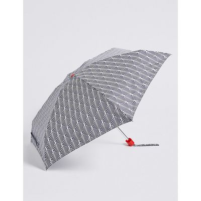 M&S Collection Printed Compact Umbrella with Stormwear