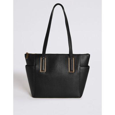 M&S Collection Metal Tab Shopper Bag