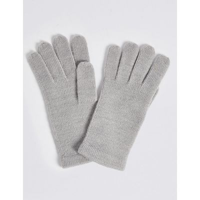 M&S Collection Soft Knitted Touchscreen Gloves