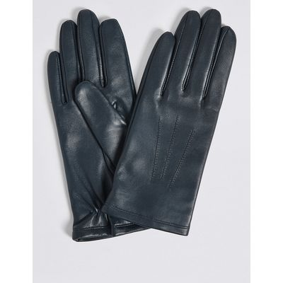 M&S Collection Leather Stitch Detail Gloves